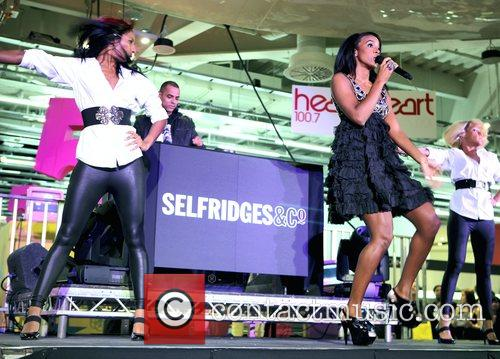 Kelly Rowland performs at the Selfridges 5th Birthday...