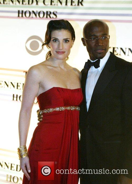 Idina Menzel and Taye Diggs the 31st annual...