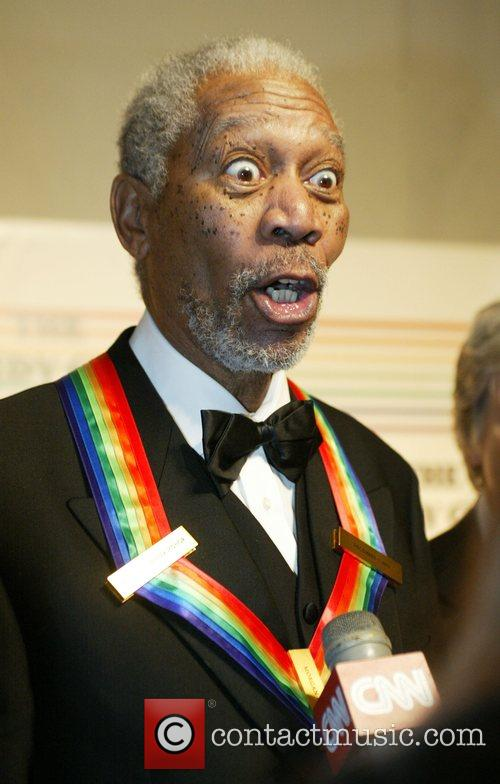 Morgan Freeman the 31st annual Kennedy Center Honors...