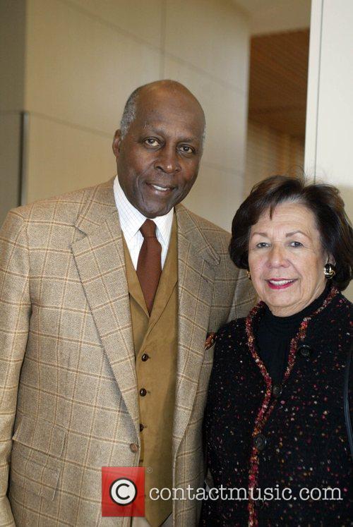 Former Secretary of State Vernon Jordan and wife...