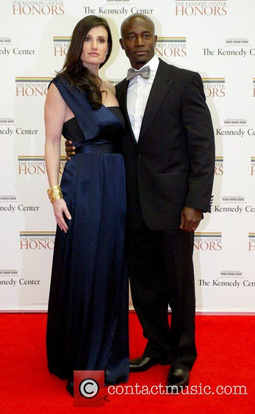 Idina Menzel and Taye Diggs The 2008 Kennedy...