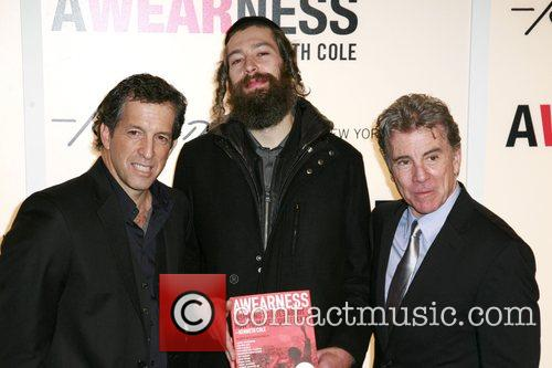 Kenneth Cole, Matisyahu and John Walsh 2