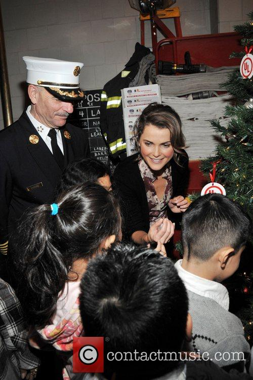 Chief Salvatore Cassano and Keri Russell  attends...