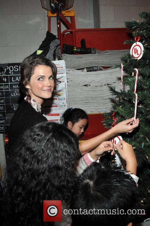 Keri Russell  attends a press conference for...