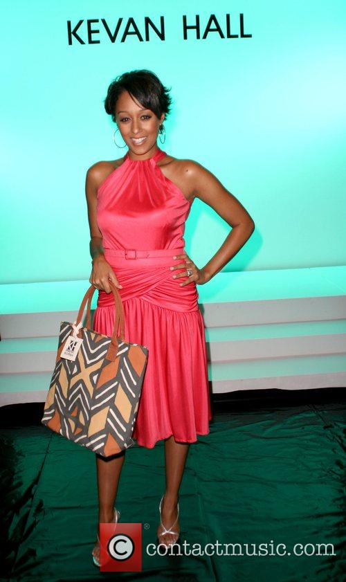 Tia Mowry attends the Kevan Hall 2008 Spring...