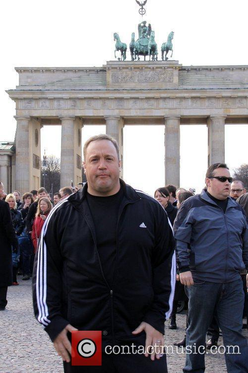 Kevin James attends a photocall for his movie...