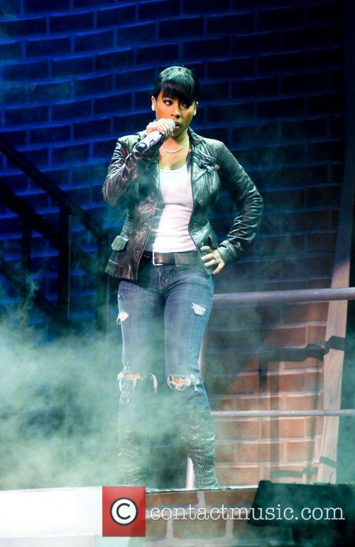 Keyshia Cole  performing live at the Chicago...