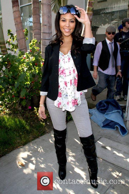 Kourtney Kardashian and Billboard 4