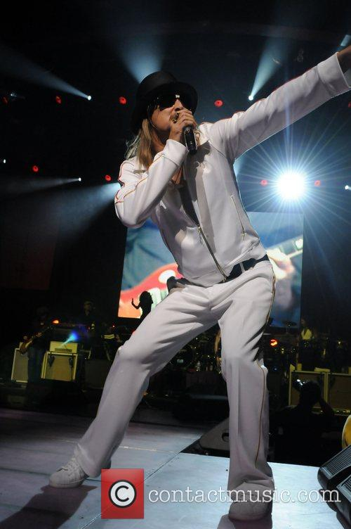 Kid Rock  performing live at the Gibson...