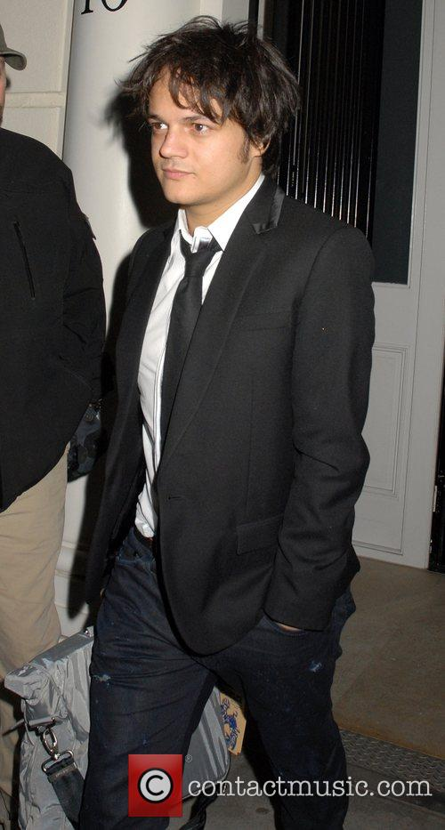 Jamie Cullum leaving a private party, held at...