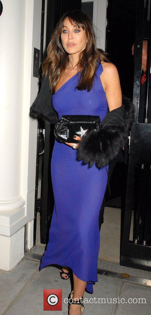 Tamara Mellon leaving a private party, held at...