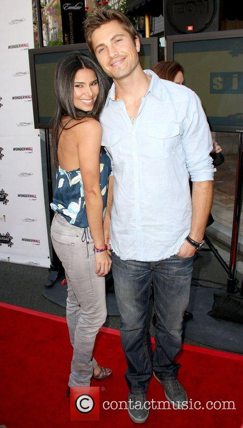 Roselyn Sanchez and Eric Winter 1