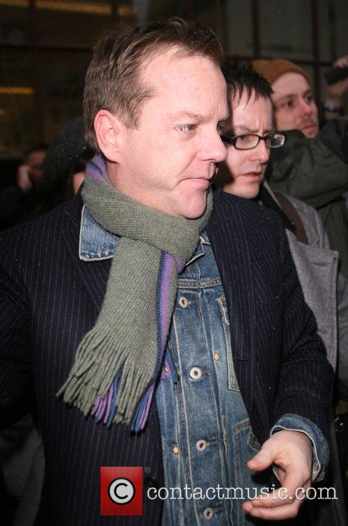 Kiefer Sutherland and Chris Moyles