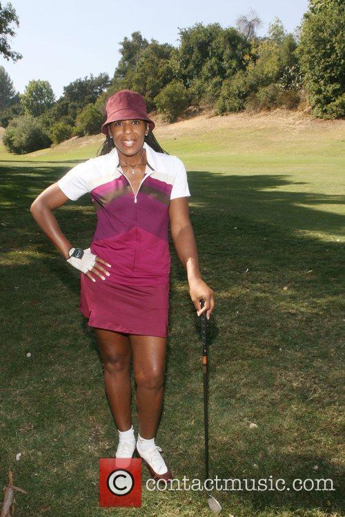 Dawn Lewis at Kiki's 1st Annual Celebrity Golf...