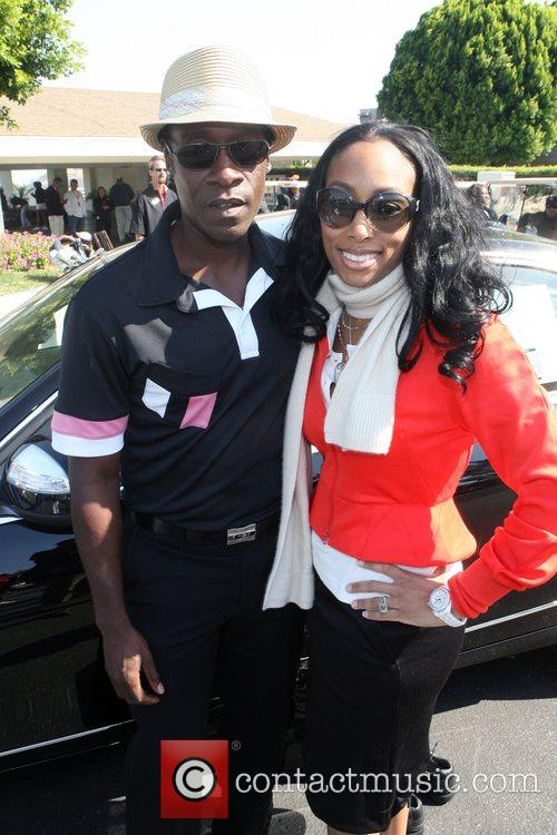 Don Cheadle and Michelle Murray of ALIZE at...