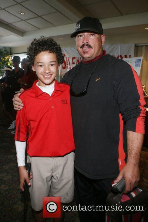 Jonah Texeira and Johnny Texeira at Kiki's 1st...
