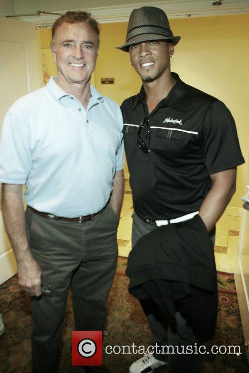 Kevin Dobson and Royce Clayton at Kiki's 1st...