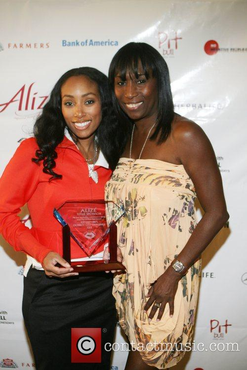Michelle Murray and Kiki Shepard at Kiki's 1st...