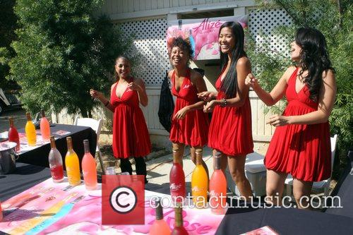 Women from ALIZEe at Kiki's 1st Annual Celebrity...
