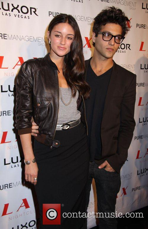 Caroline D'Amore and guest hosts a birthday soiree...