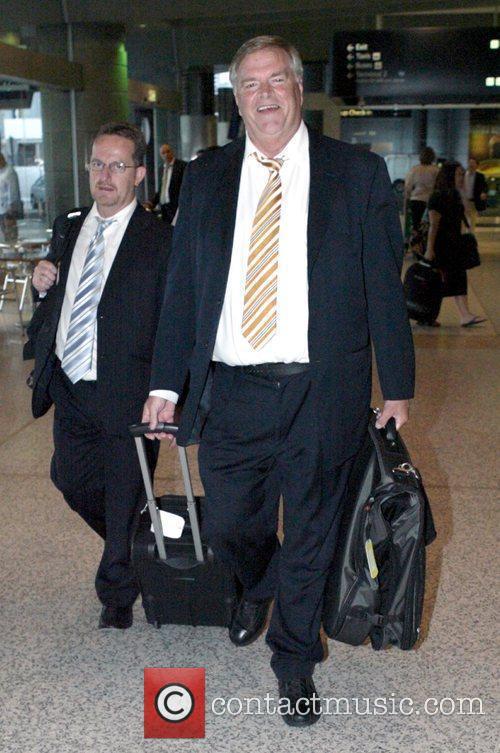Australian politician Kim Beazley arrives at Sydney Airport...