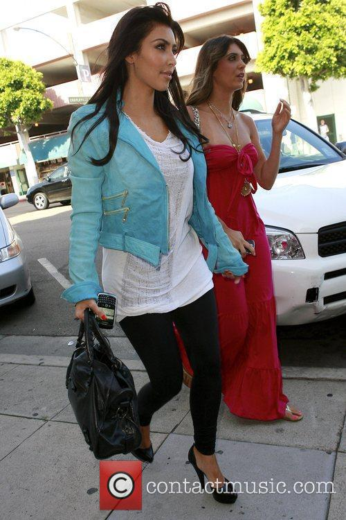 Kim Kardashian and Brittny Gastineau Go On A Shopping Spree At Harmony Lane 10