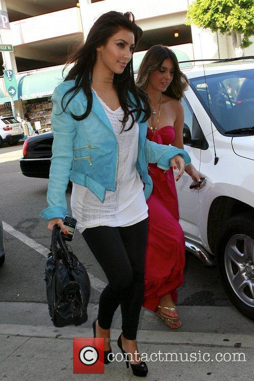 Kim Kardashian and Brittny Gastineau Go On A Shopping Spree At Harmony Lane 9