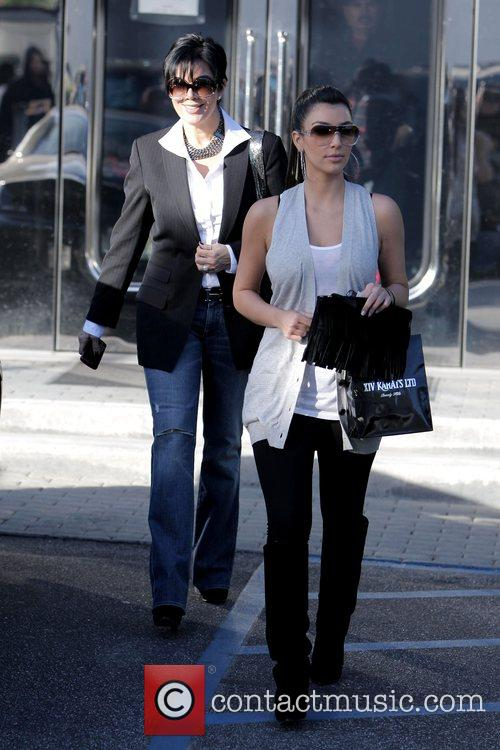 Kim Kardashian and Her Mother Kris Jenner Leaving Xiv Karat Jewelry Store In Beverly Hills 2