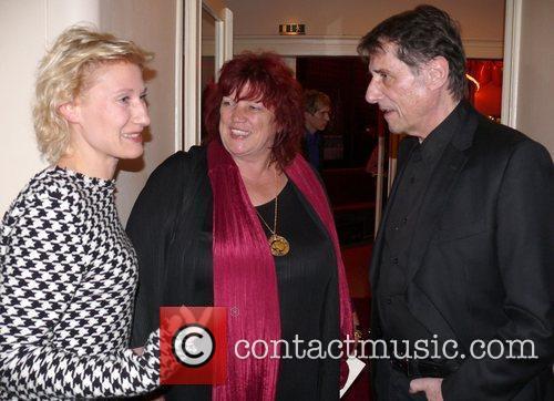 Sonya Ziegler, Udo Jurgens, Regina Ziegler Premiere of...