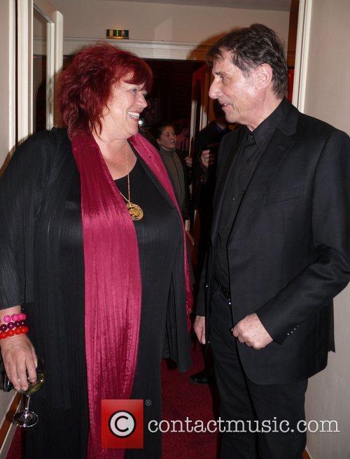 Udo Jurgens, Regina Ziegler Premiere of 'Kinder des...