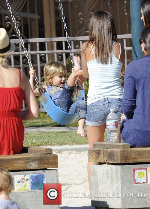 Kingston Rossdale, Gavin Rossdale and Gwen Stefani 4