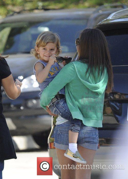 Kingston Rossdale, Gavin Rossdale and Gwen Stefani 5