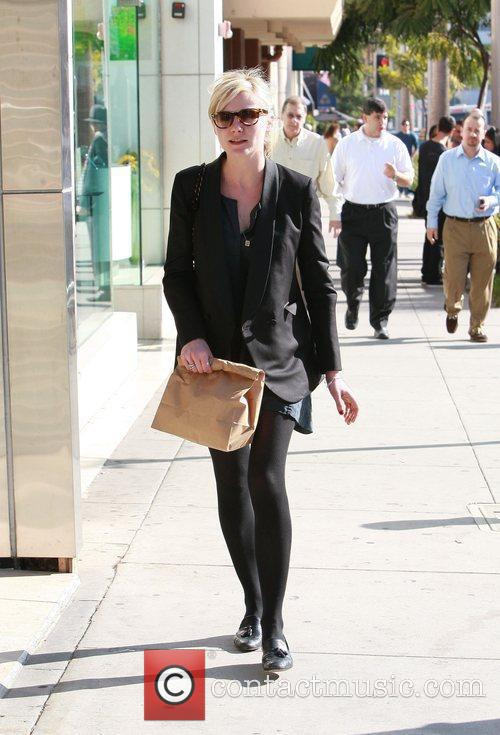 Goes for lunch in Beverly Hills