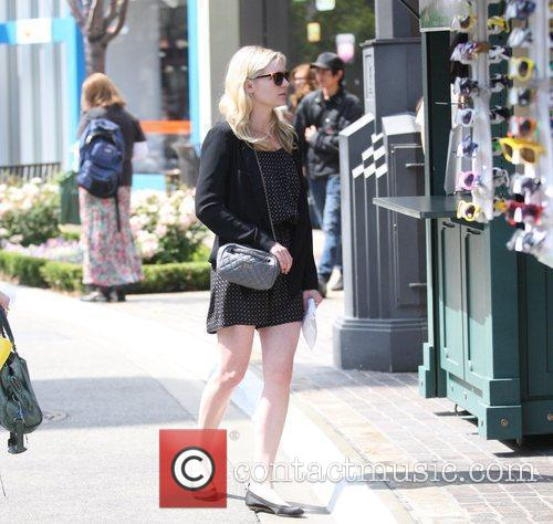 Kirsten Dunst taking some time out for a...