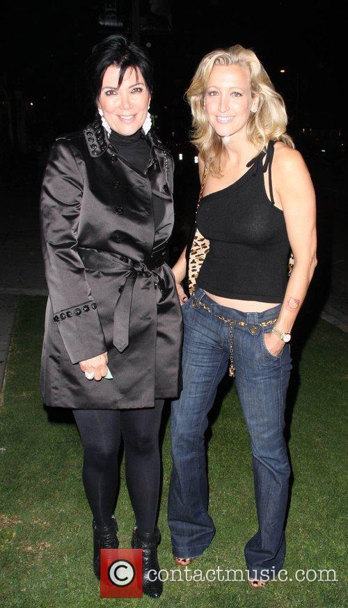 Chris Kardashian and Lara Spencer at Koi