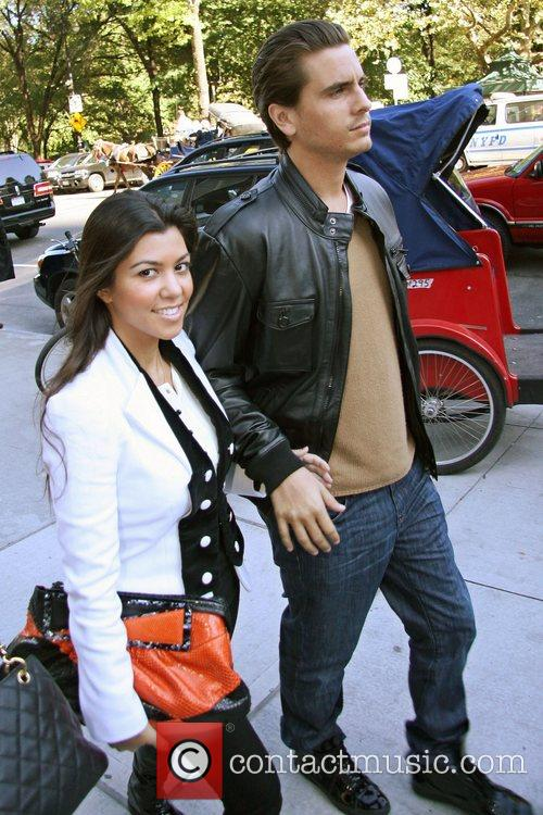 Kourtney Kardashian and Scott Disick 10