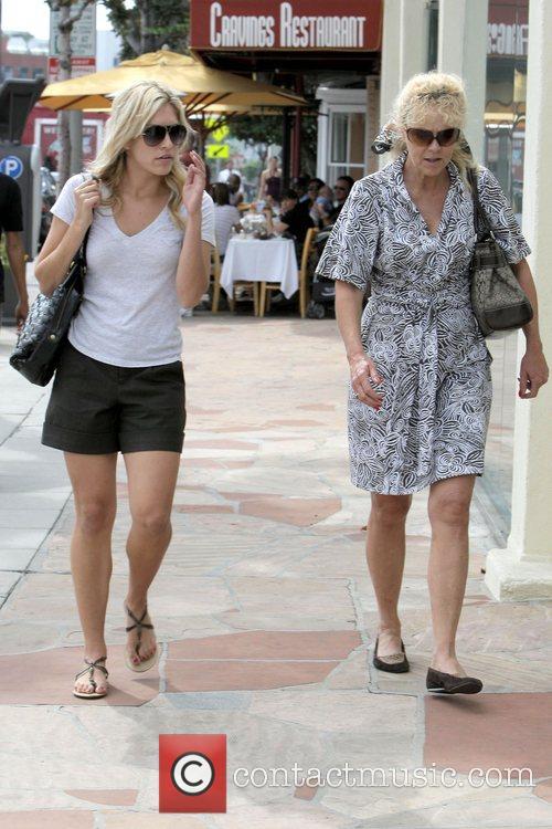 Kristin Cavallari leaving Clafoutis where she had lunch...