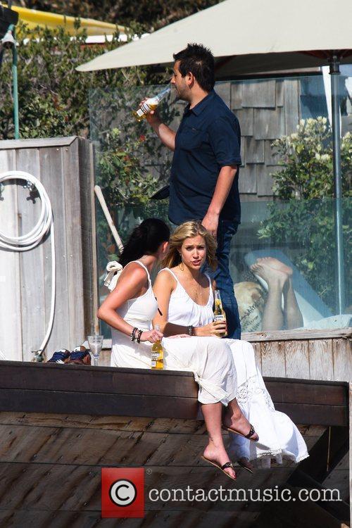 Kristin Cavallari enjoys a day on Malibu Beach...