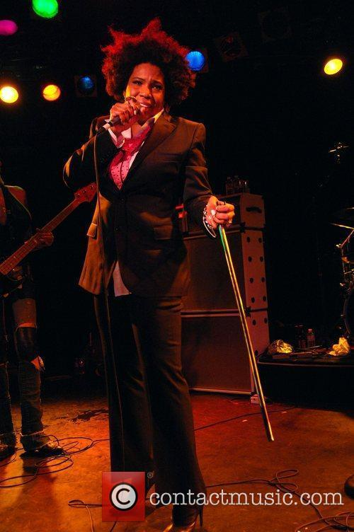 Performing with The Chelsea Girls at The Roxy...
