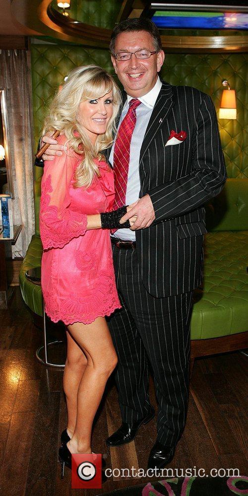 Lisa Murphy with her boyfriend Gerald Keane at...