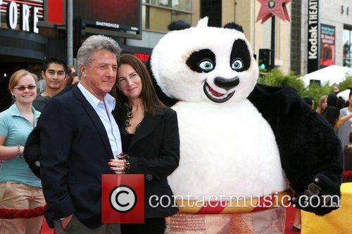 Dustin Hoffman and Lisa Hoffman Kung Fu Panda...