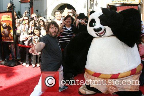 Jack Black Kung Fu Panda and Secrets of...
