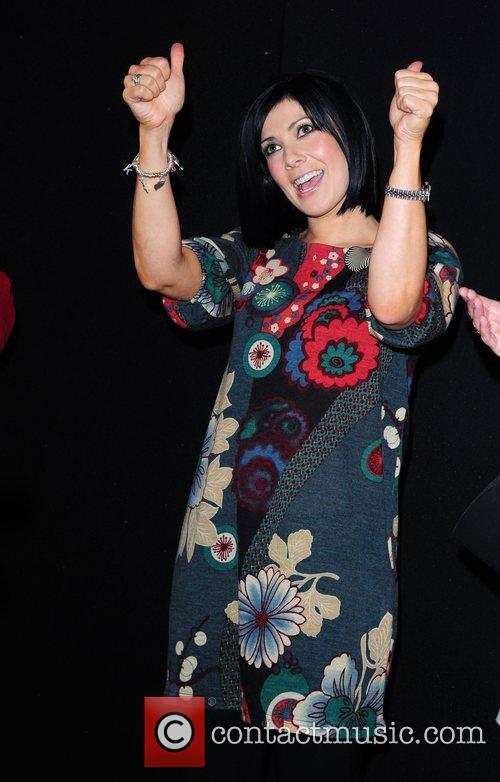 Kym Marsh switches the Christmas lights on at...