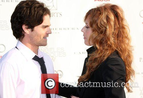 Greg Rikaart and Tracey Bregman  arriving at...