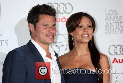 Nick Lachey and Vanessa Minnillo  arriving at...