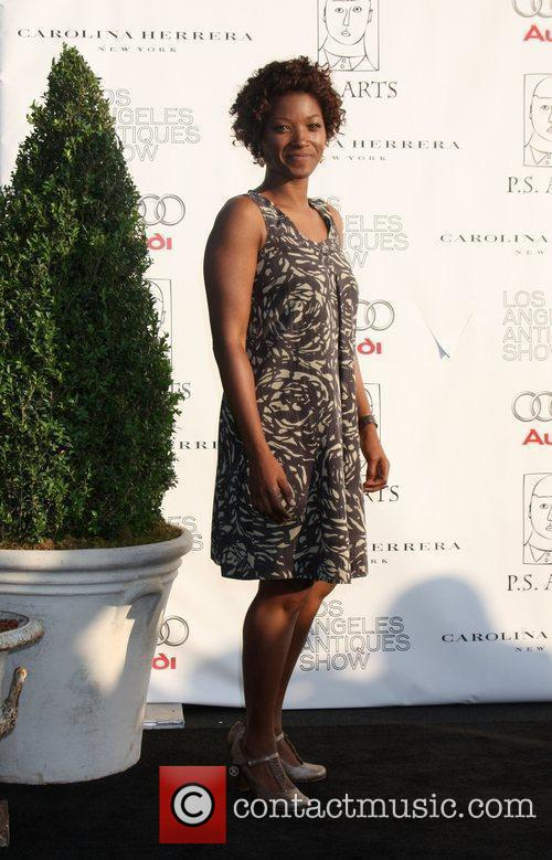 Yolonda Ross arriving at the 14th Annual Los...