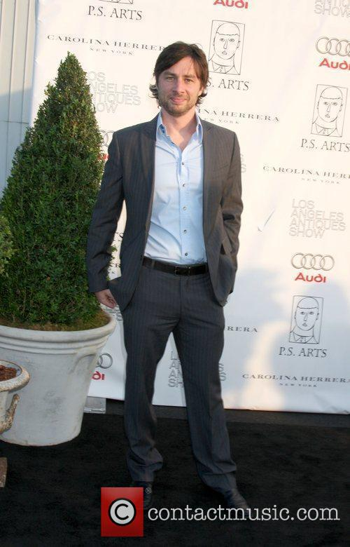 Zach Braff  arriving at the 14th Annual...