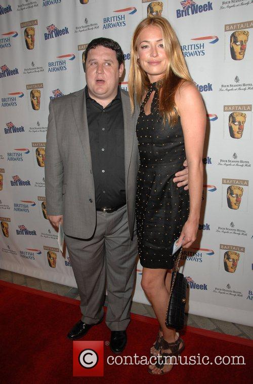 Cat Deeley and Peter Kay Los Angeles BritWeek...