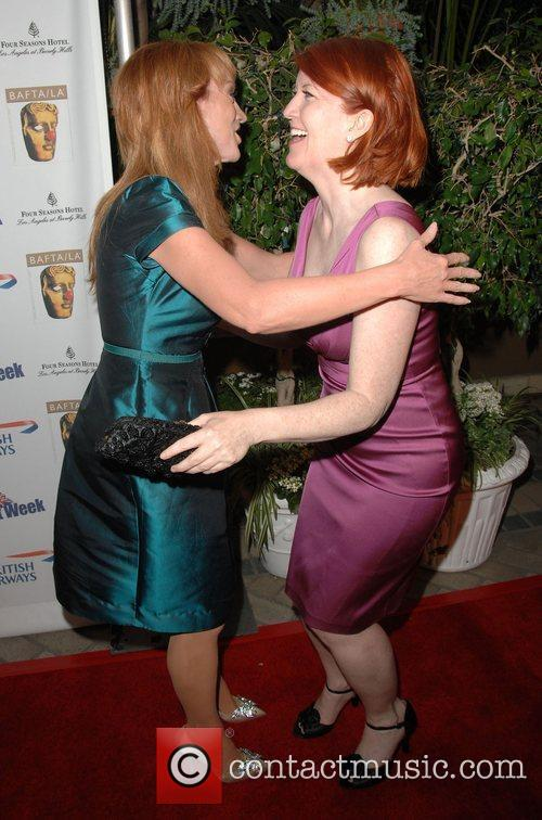 Kathy Griffin and Kate Flannery Los Angeles BritWeek...