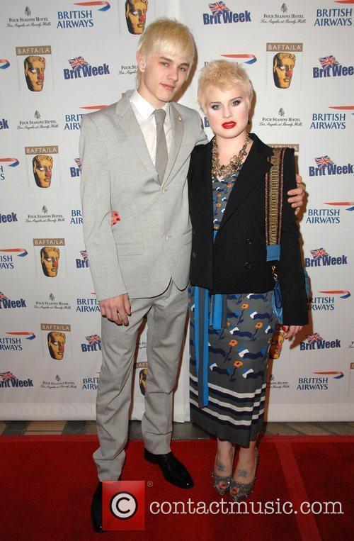 Kelly Osbourne and boyfriend Luke Worrell Los Angeles...